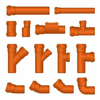 Pvc pipes making connections for Plastic plumbing pipe types