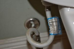 How to Change your Toilet's Water Supply Line