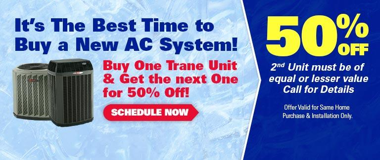 0% Financing for 60 Months on Trane 18+ SEER