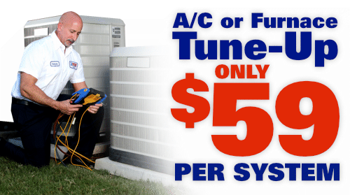 AC or Furnace Tune-up: Only $59 per system