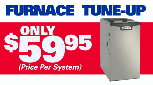 Furnace Tune-up Only $59.95