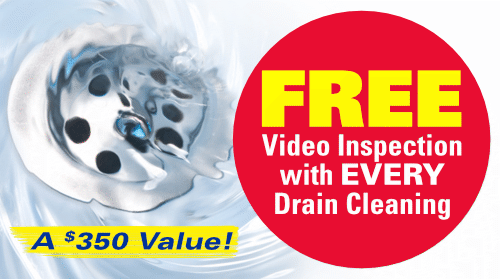 FREE Video Inspection with Every Drain Cleaning