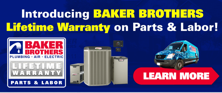 Baker Brothers Lifetime Warranty