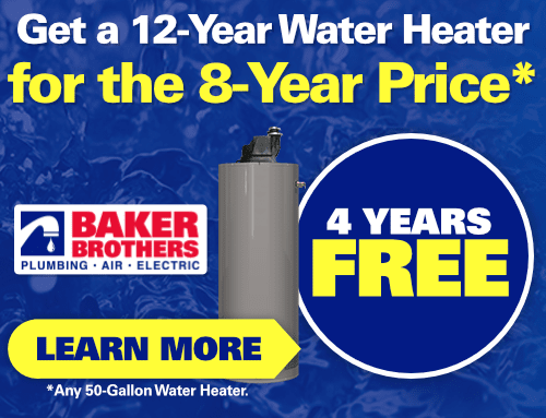 Get a 12 Year Water Heater for the 8 Year Price