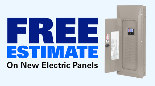 Free Estimate on New Electric Panels